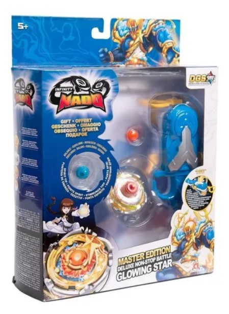 Pião de Batalha Infinity Nado Master Series Glowing Star 3915