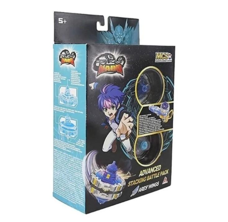 Pião de Batalha Infinity Nado V Advanced Edition Ares Wings - Candide