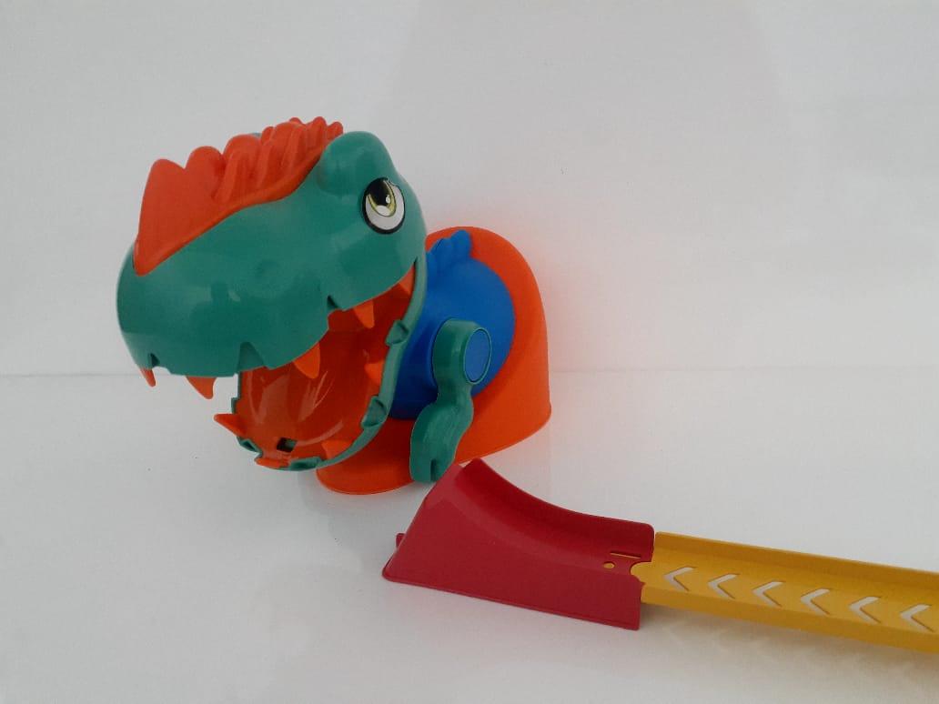 Pista de corrida do Dino - Samba Toys