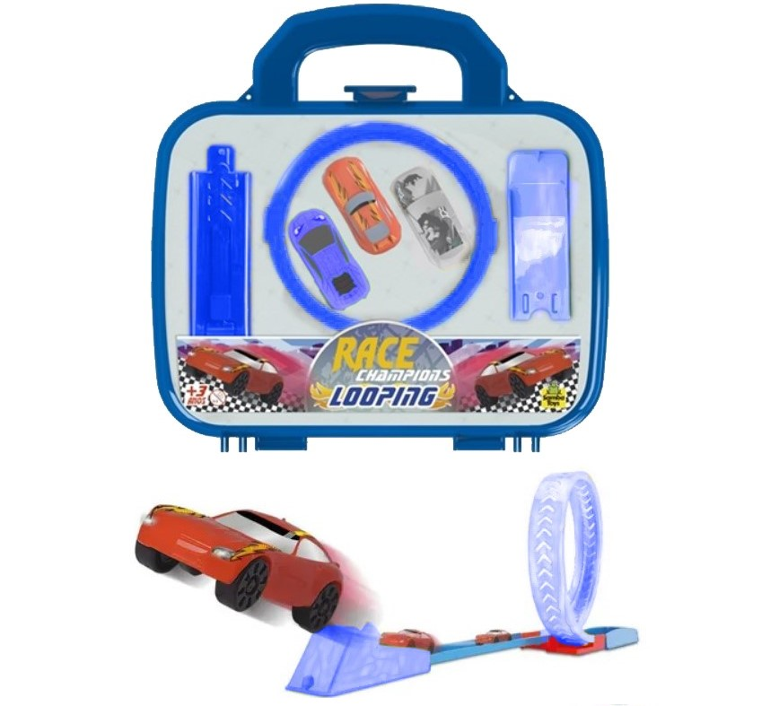 Pista De Corrida Maletinha Looping Race 0806 samba Toys