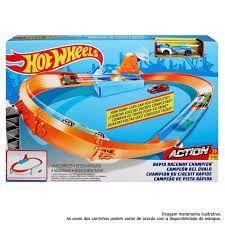 Pista Hot Wheels Campeão De Pista Rápida Mattel