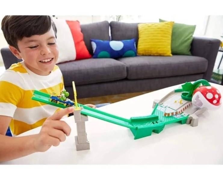 Pista Hot Wheels  Mario Kart  Nemesis Mattel
