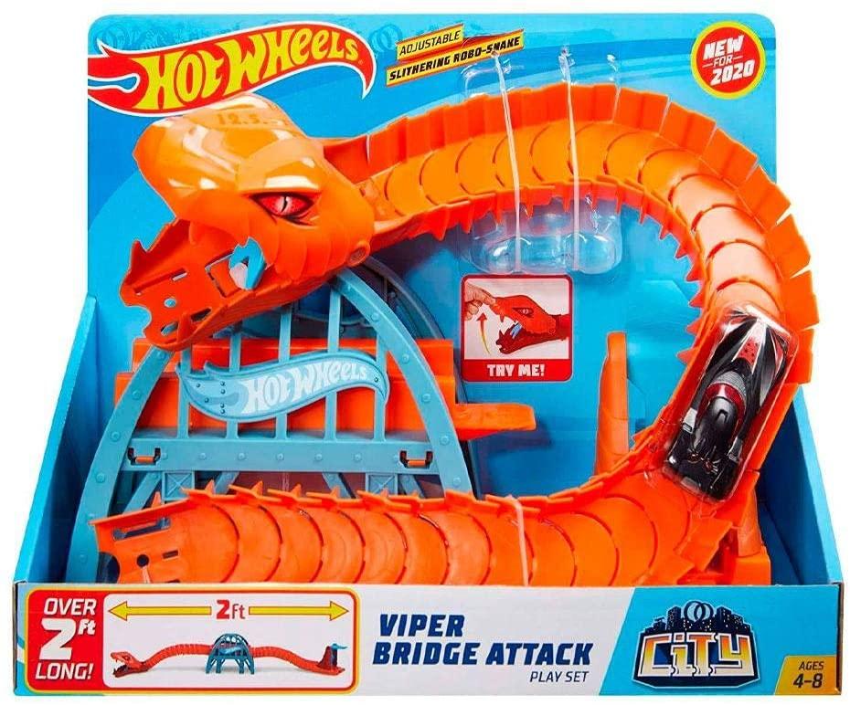 Pista Hot Wheels Ponte De Cobra FNB05/Gjk88 - Mattel