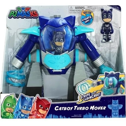 Robô Pj Masks Turbo Menino Gato BR1268 Multikids