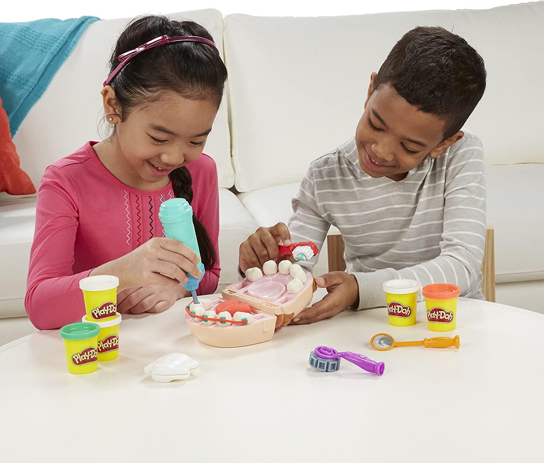 Play-doh Brincando De Dentista B5520 Hasbro