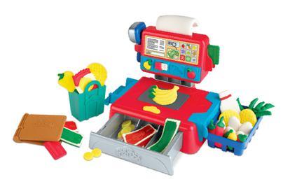 Play-doh Massinha - Caixa Registradora Com Som Hasbro