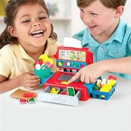 Play-doh Massinha  Caixa Registradora Com Som Hasbro