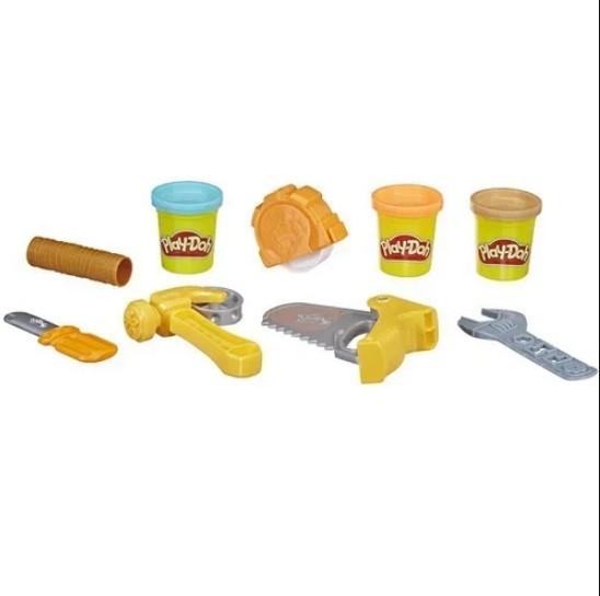 Play-Doh Massinha Ferramentas de construção Hasbro