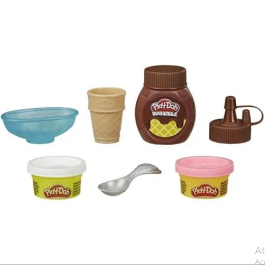 Play-Doh Mini Kit Cobertura Sorvete Hasbro