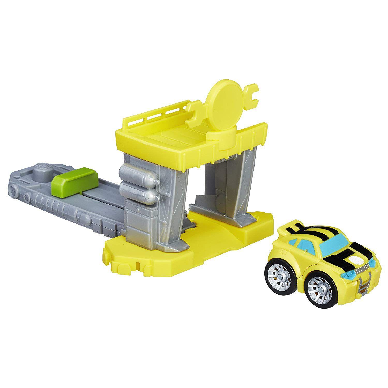 Play Skool Heroes Transformers Flip Racers Bumblebee- C0215
