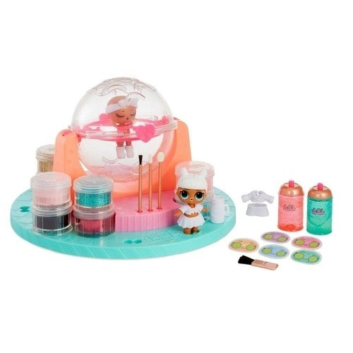 Playset com Mini Boneca - LOL Surprise - Diy Glitter Station - Candide