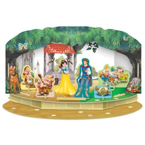 Playset Momentos Magicos Princesas Disney Branca de Neve - Estrela