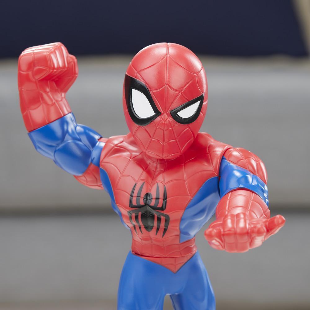 Playskool Heroes- Marvel Super Hero Adventures- Mega Mighties Homem-Aranha- Hasbro- E4132