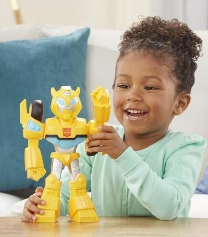 Playskool Transformers Mega Mighties Bumblebee- Hasbro- E4131