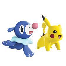 Pokémon - Figuras Pikachu E Popplio Dtc 4842
