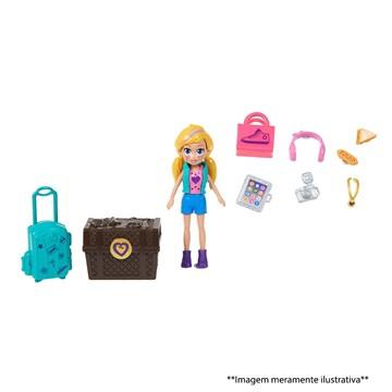 Polly Pocket Kit Turista Estiloso - Gdm12 Mattel