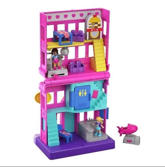 Polly Pocket Micro Lanchonete Pollyville Mattel GGC29