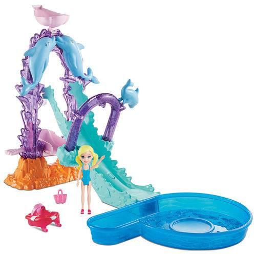 Polly Pocket Parque Aquático dos Golfinhos- Mattel- FNH13