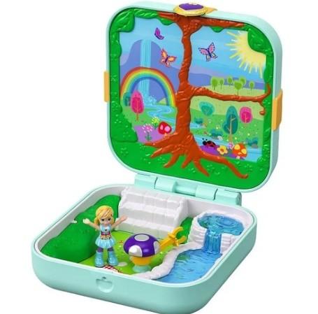 Polly Pocket - Playset E Mini Boneca - Floresta Mágica GDk79