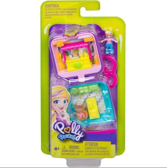 Polly Pocket Playset Surpresa Mini Estojo Da Mattel GKJ39