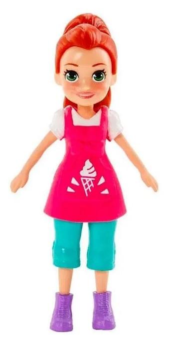 Polly Pocket Stand De Sorvetes Lila Mattel GWD82