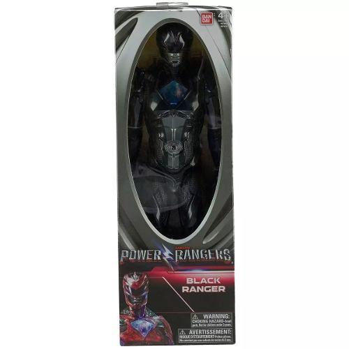 Ranger Preto Power Rangers Figura 30cm - Sunny - 1258