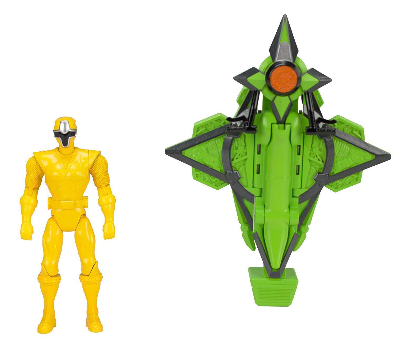 Power Rangers Veiculo com Ranger Amarelo - Sunny - 1824