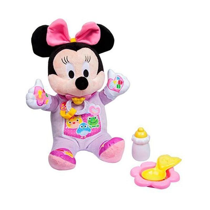 Primeira Pelúcia Minnie-Dican