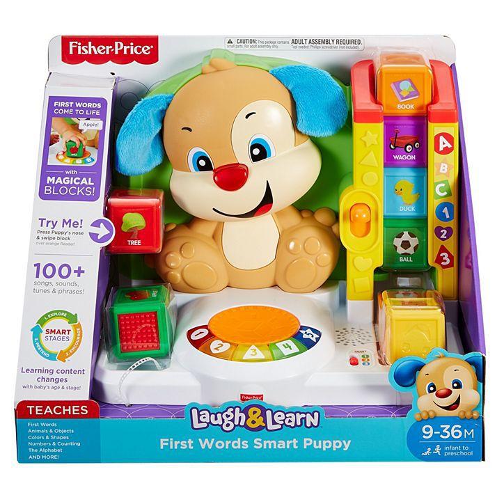 Primeiras Palavras Smart Puppy - Fisher Price