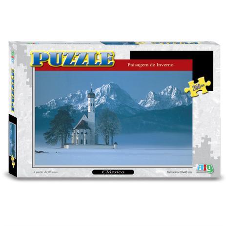 Puzzle Paisagem de Inverno - Nig