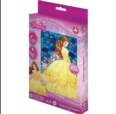 Quadros para Decorar Princesa Bela - Estrela