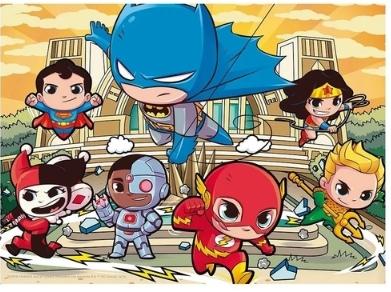 Quebra Cabeça - Puzzle DC Super Friends - Grow