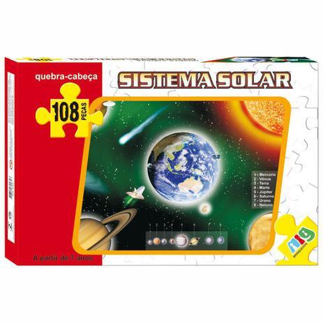Quebra-Cabeça Sistema Solar - Nig