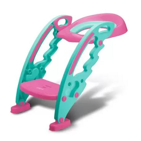 Redutor de assento com escada menina - Multikids