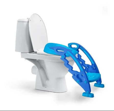 Redutor De Assento Com Escada Menino Multikids