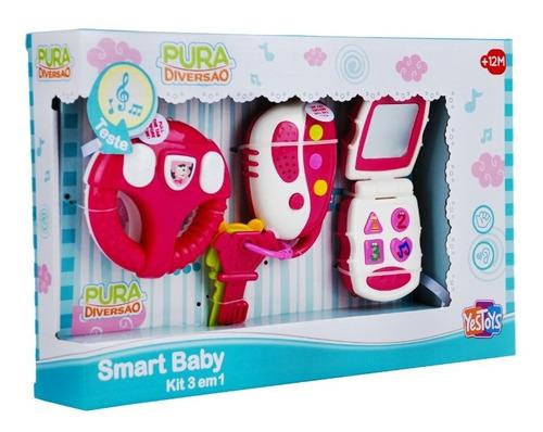 Smart Baby Kit 3 em 1 YesToys