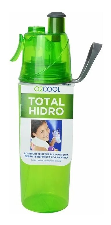 Squeeze Total Hidro O2 Cool Verde 3197