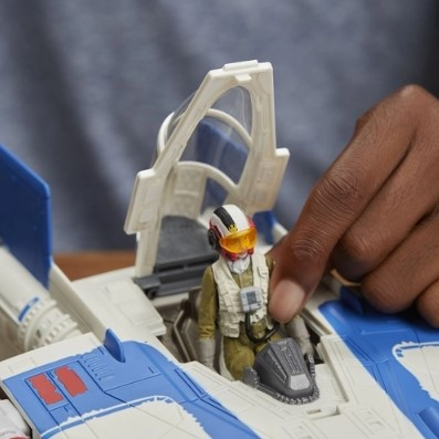 Star Wars Episódio 8 Veiculo A-wing Fighter Classe B Hasbro