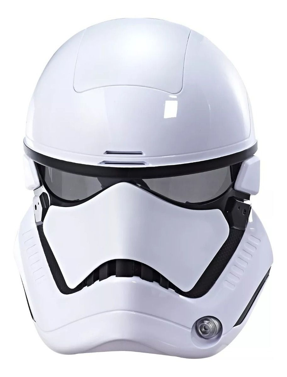 Star Wars Máscara Eletrônica Stormtrooper Muda Voz Hasbro - C1413