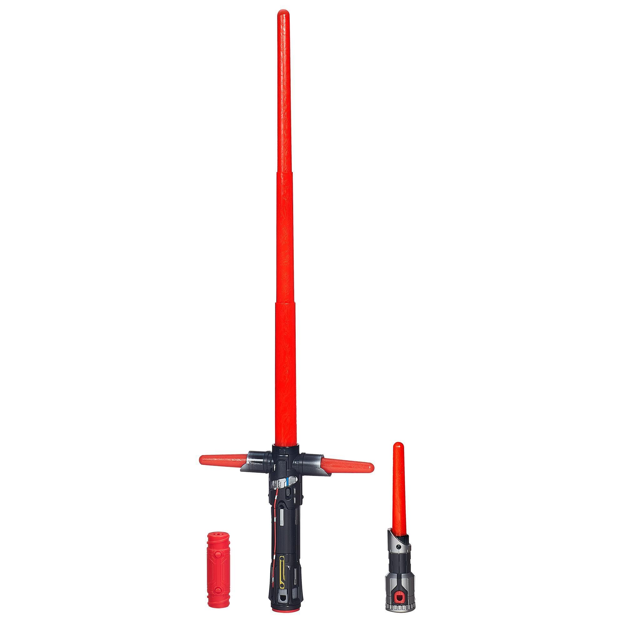 Star Wars O Despertar da Força Sabre de Luz Eletrônico Deluxe de Kylo Ren - Hasbro B2948