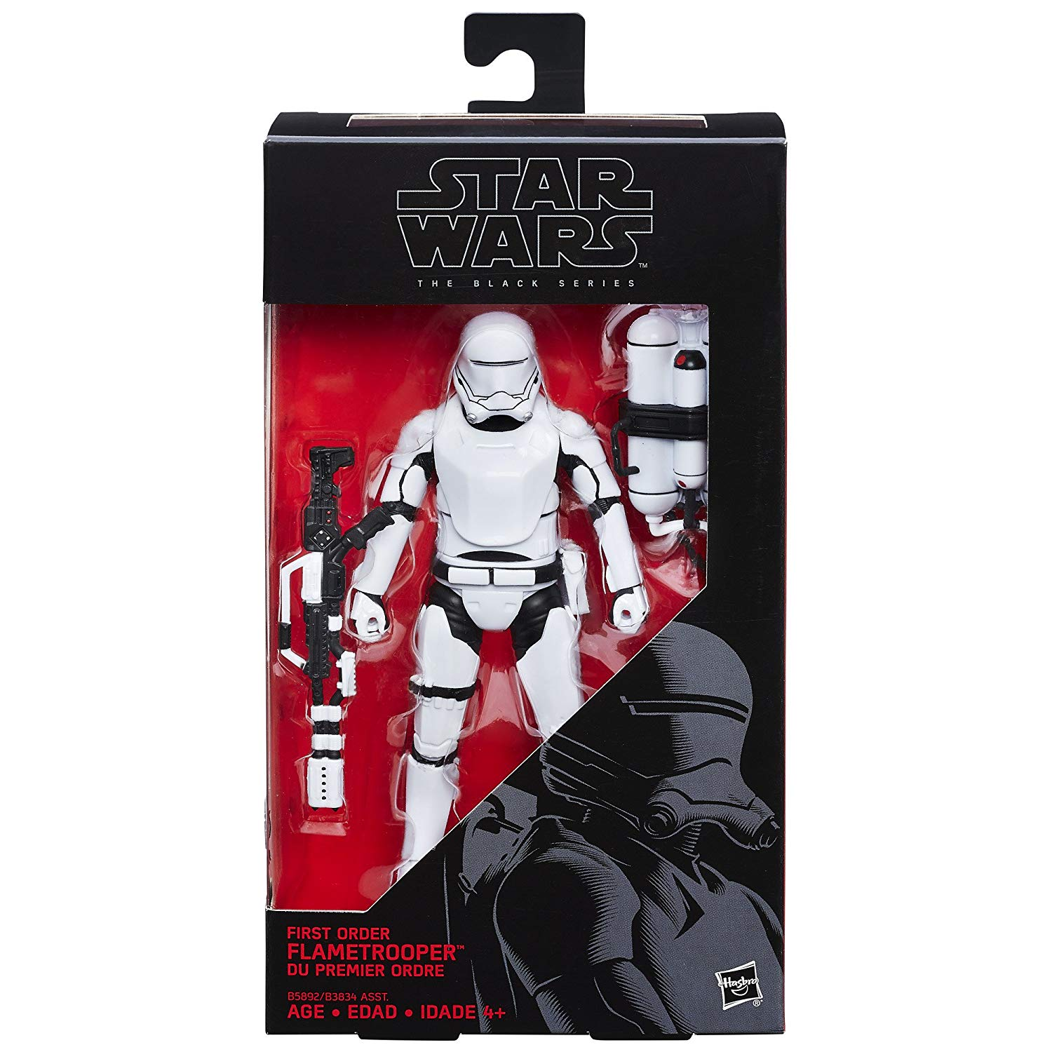 Star Wars The Black Series - Flametrroper da Primeira Ordem- Hasbro- B3834