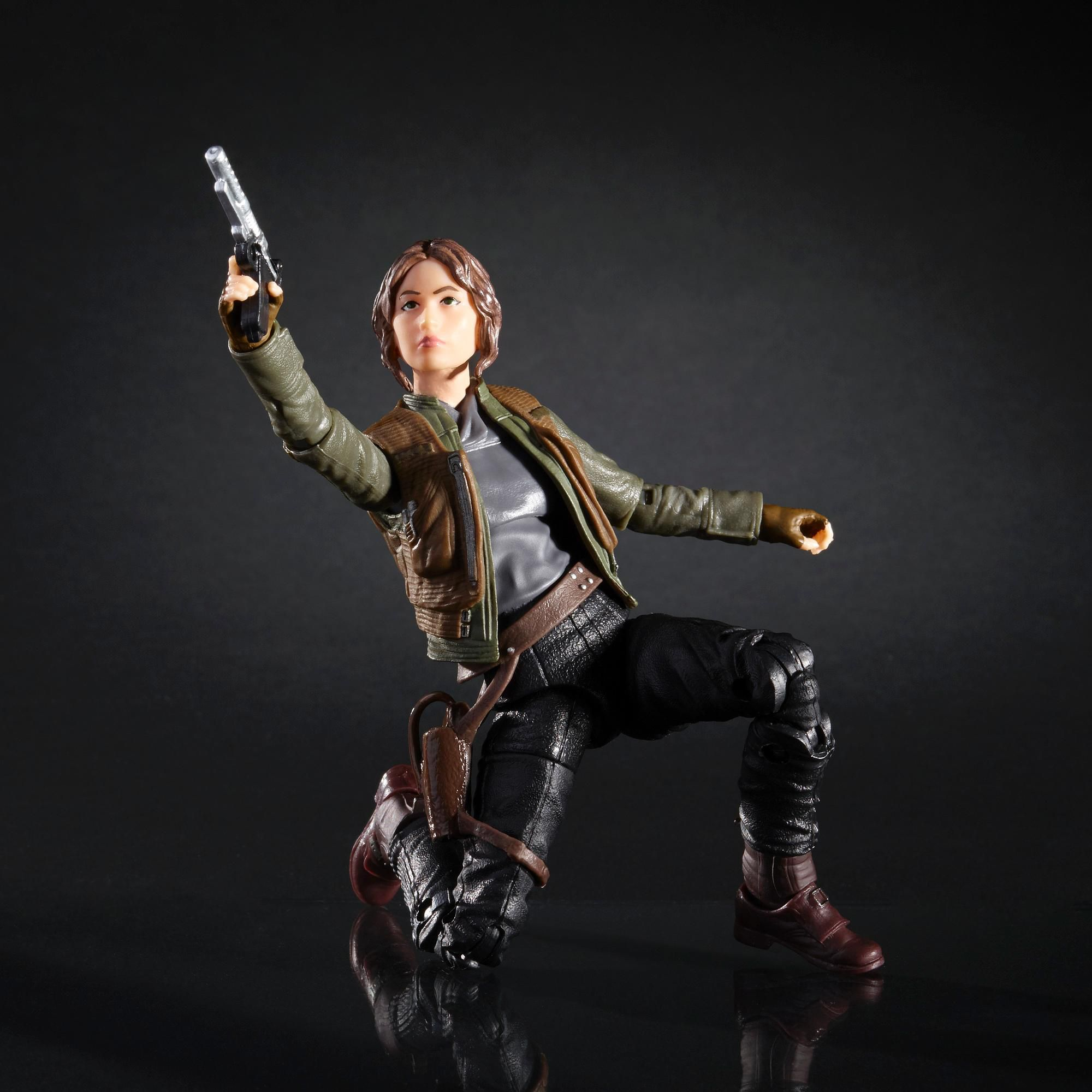 Star Wars The Black Series -Rogue One- Sargento Jyn Erso- Hasbro- B3834