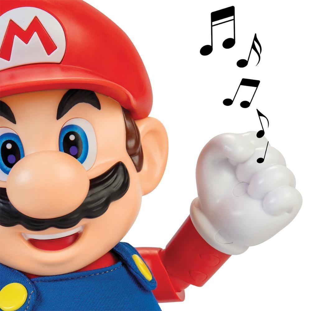 Super Mario Boneco articulado com som Candide
