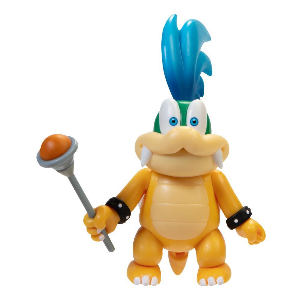 Super Mario Boneco Larry 4 polegadas colecionável Candide