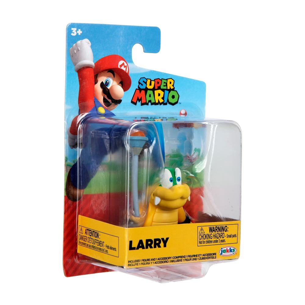 Super Mario Boneco Larry colecionável Candide
