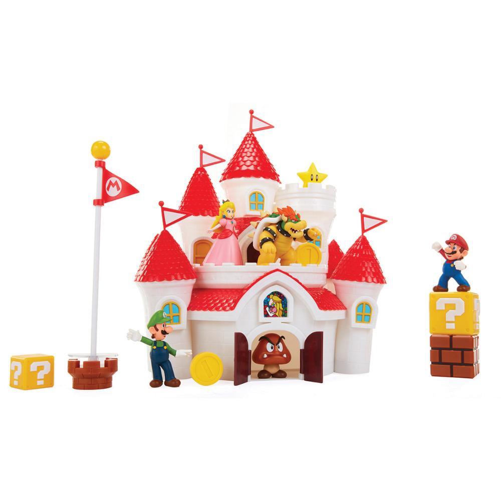 Super Mario Castelo Deluxe do reino dos cogumelos Candide