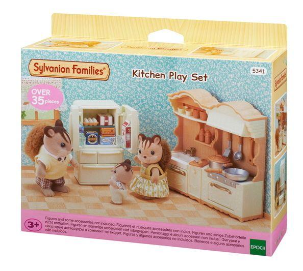 Sylvanian Families Conjunto Cozinha e Acessórios - Epoch - 5341