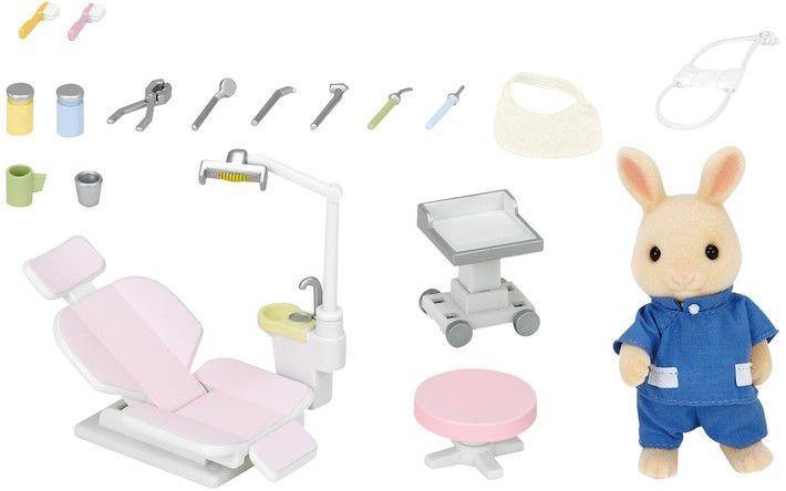 Sylvanian Families Conjunto Dentista do Campo - Epoch - 5095