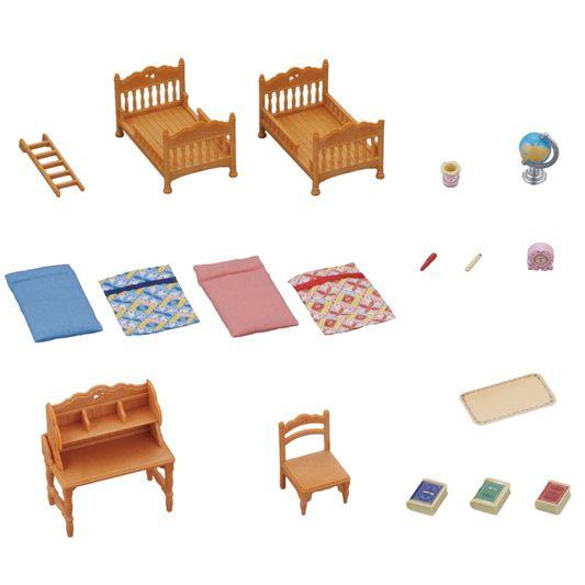 Sylvanian Families Conjunto Quarto Infantil- Epoch - 5338