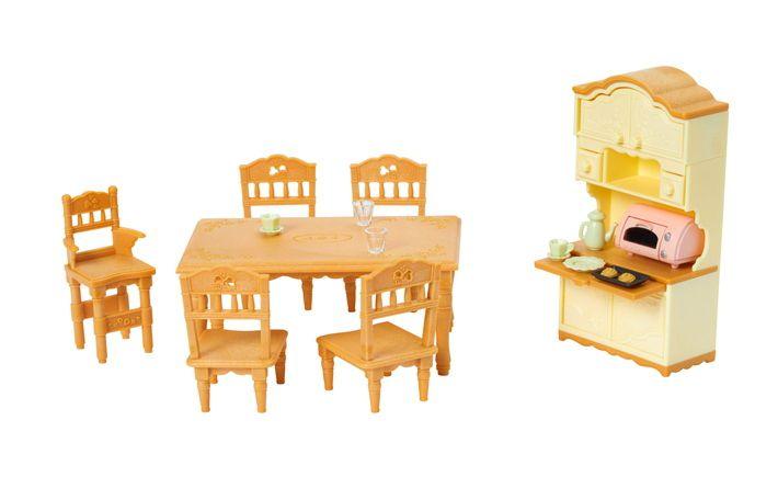 Sylvanian Families Conjunto Sala de Jantar Clássica - Epoch - 5340